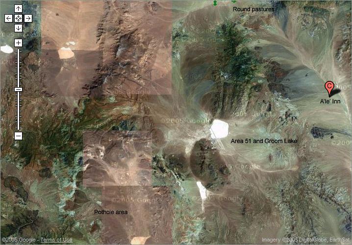 An Eye on Area 51, Nevada