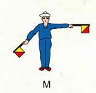 Marine semaphore