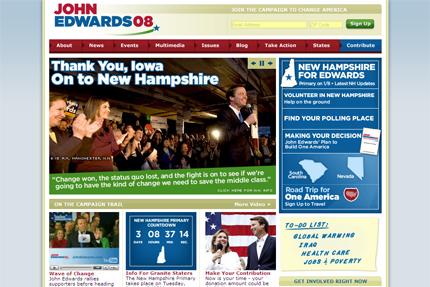 Edwards for president 2008