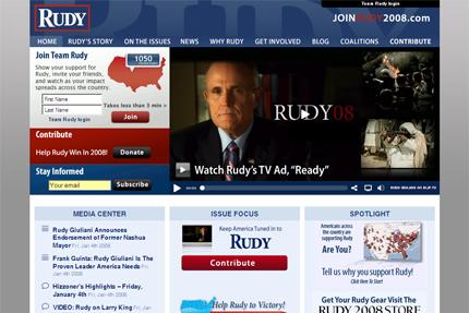 Rudy Giuliani for president 2008