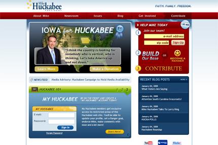 Huckabee for president 2008