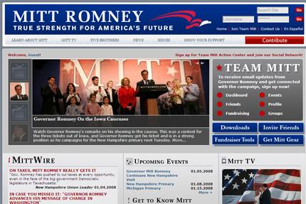 Romney for president 2008