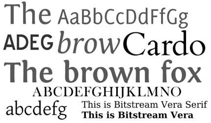 Aug 15 2008 25 free fonts all in one