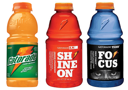 Gatorade brand change