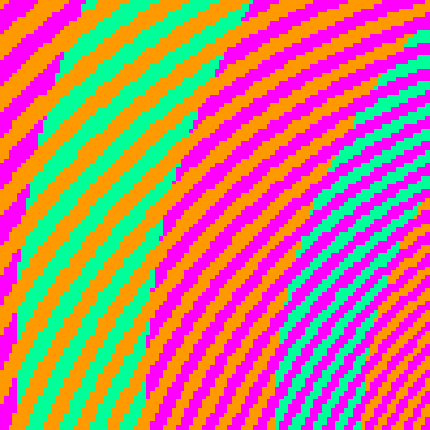 A color illusion