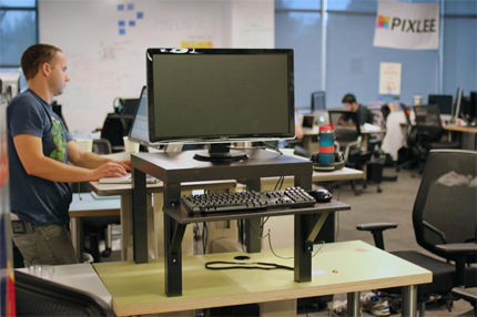 How to make a standing desk for less than 20