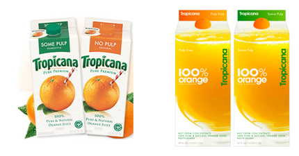 Tropicana brand change