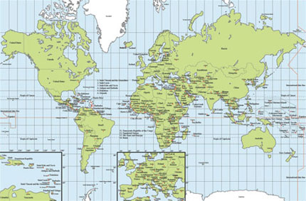 The emergence of a new world order usa world map gumiabroncs Gallery