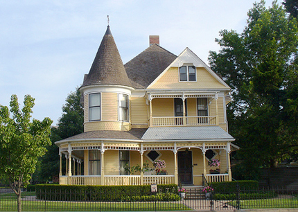 Home sweet american culture for New victorian style homes